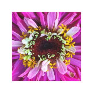 Assez en fleur pourpre toile