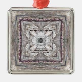 Assez le rose a teinté le motif inspiré par ornement carré argenté