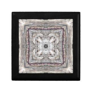 Assez le rose a teinté le motif inspiré par petite boîte à bijoux carrée