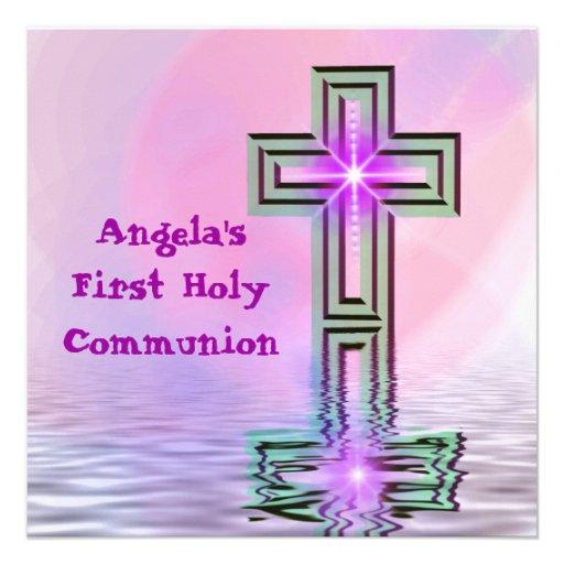 Assez premiers invitations de sainte communion