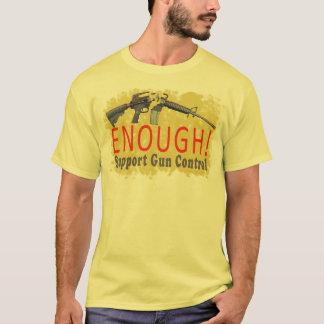 ASSEZ ! T-shirt de contrôle des armes de soutien