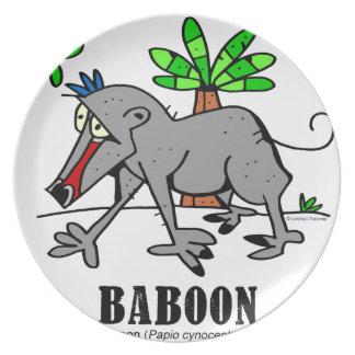 Assiette Babouin par Lorenzo
