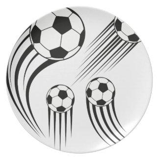 Assiette Ballons de football