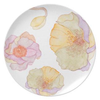 Assiette Beau floral