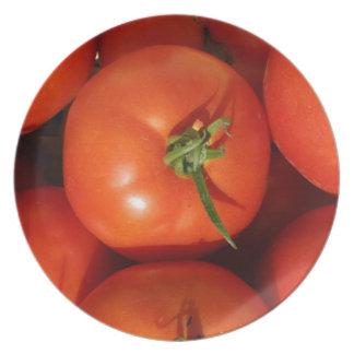 Assiette Belles tomates du cru mûres