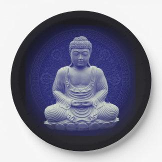 Assiette Bénédiction Bouddha médecine Alimentation