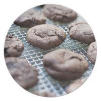 Biscuits sans gluten fraîchement cuits au four de