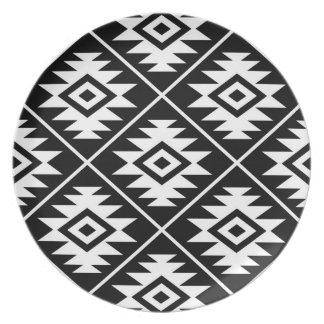 Assiette Blanc stylisé d'atterrisseur Ptn de symbole