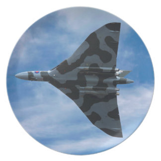 Assiette Bombardier de Vulcan en vol