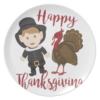 Assiette Bon thanksgiving