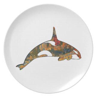 Assiette Bonheur d'orque