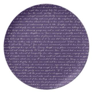 Assiette Boule de Netherfield de fierté et de préjudice