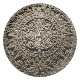Assiette Calendrier maya
