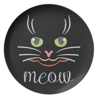 Assiette Chat de Meow