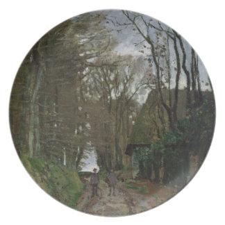 Assiette Chemin de Claude Monet | en Normandie