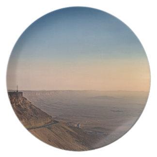 Assiette Cratère de Mizpe Ramon, Israël