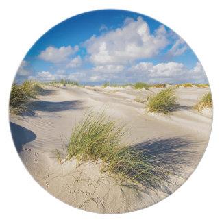 Assiette Dunes sur l'île Amrum de la Mer du Nord