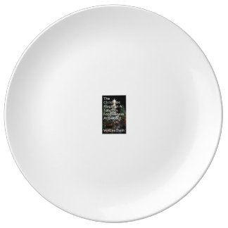 """Assiette En Porcelaine 10,75"""" plat décoratif de porcelaine"""