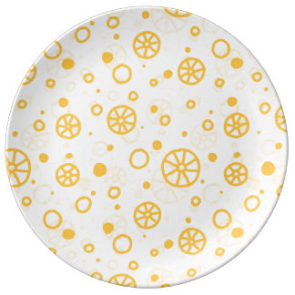 Assiette En Porcelaine Conception italienne N. 1 de pâtes de Ruote