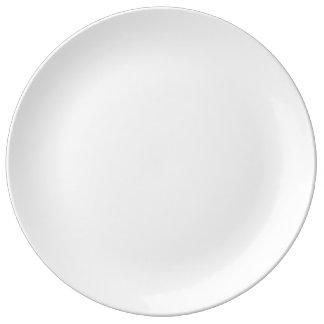 """Assiette En Porcelaine Coutume 10,75"""" plat décoratif de porcelaine"""