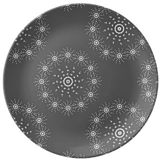 Assiette En Porcelaine Grand plat de porcelaine
