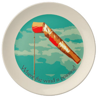 Assiette En Porcelaine Manche à air