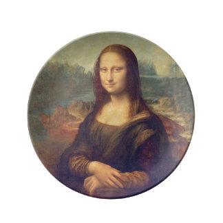 Assiette En Porcelaine Mona Lisa par Leonardo da Vinci