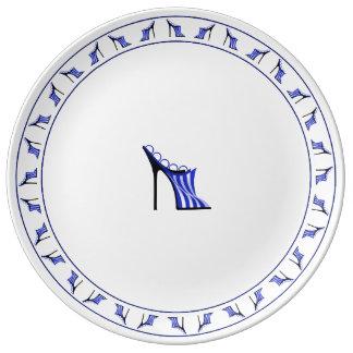 Assiette En Porcelaine Mule américaine
