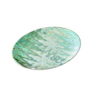 Assiette En Porcelaine Plat décoratif de porcelaine de la Sardaigne