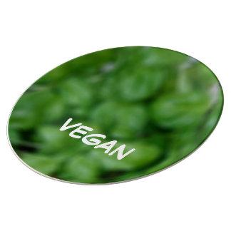 Assiette En Porcelaine Vegan