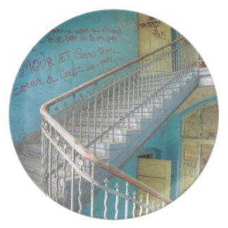 Assiette Escaliers 01,0, endroits perdus, Beelitz