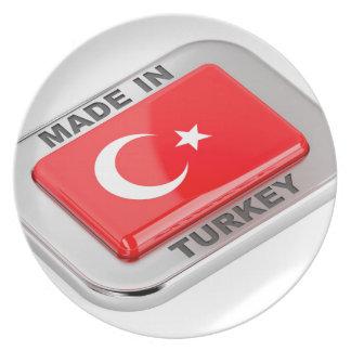 Assiette Fabriqué en Turquie
