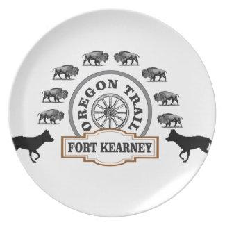 Assiette Fort Kearney Nébraska