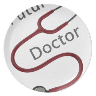 Assiette Futur docteur le Dr.