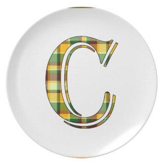 Assiette Initiale de plaid de C
