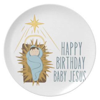 Assiette Joyeux anniversaire Jésus