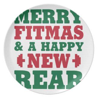 Assiette Joyeux Fitmas