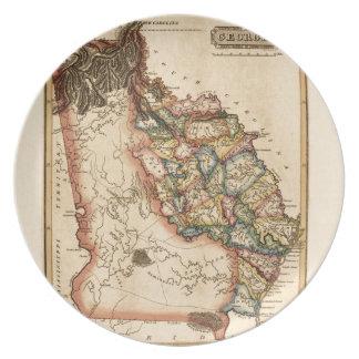 Assiette La Géorgie 1817