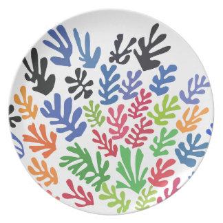 Assiette La Gerbe par Matisse