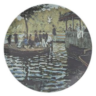 Assiette La Grenouillere de Claude Monet |
