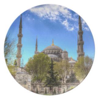 Assiette La mosquée bleue Istanbul