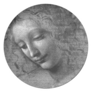 Assiette La Scapigliata par Leonardo da Vinci