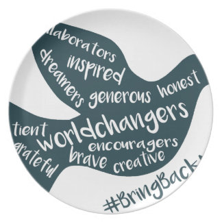 Assiette L'aide élèvent le mouvement au #BringBackNice !