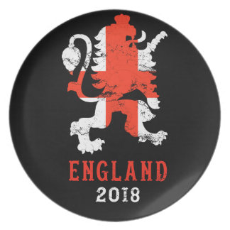 Assiette L'Angleterre 2018 - Équipe de football BRITANNIQUE