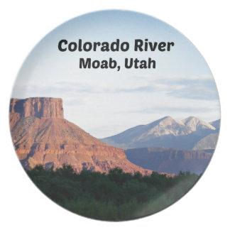 Assiette Le fleuve Colorado, Moab, UT