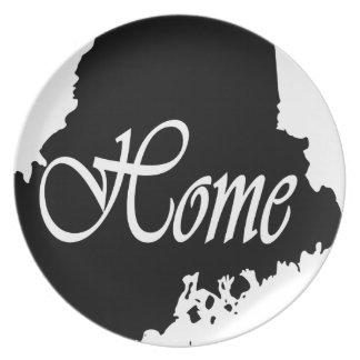 Assiette Le Maine
