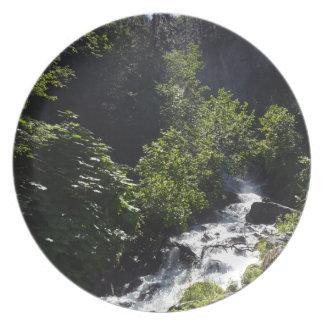 Assiette Le pionnier tombe butte Alaska