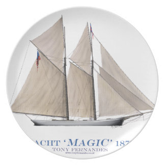 Assiette Magie 1870