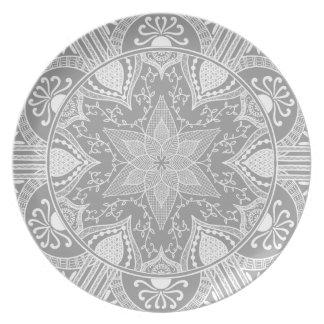 Assiette Mandala en pierre