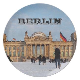 Assiette Milou Reichstag_001.02 (Reichstag im Schnee)